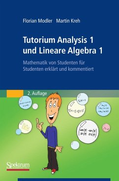 Tutorium Analysis 1 und Lineare Algebra 1 (eBook, PDF) - Modler, Florian; Kreh, Martin