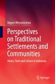 Perspectives on Traditional Settlements and Communities (eBook, PDF)