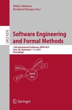 Software Engineering and Formal Methods (eBook, PDF)
