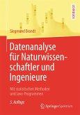 Datenanalyse für Naturwissenschaftler und Ingenieure (eBook, PDF)