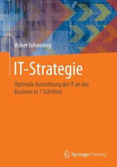 IT-Strategie (eBook, PDF) - Johanning, Volker