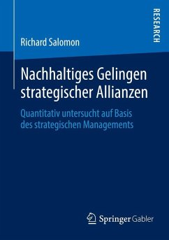 Nachhaltiges Gelingen strategischer Allianzen (eBook, PDF) - Salomon, Richard