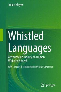 Whistled Languages (eBook, PDF) - Meyer, Julien