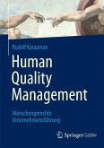 Human Quality Management (eBook, PDF)