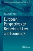 European Perspectives on Behavioural Law and Economics (eBook, PDF)