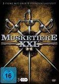 Musketiere XXL: John Wayne - Die drei Musketiere / Douglas Fairbanks - Die drei Musketiere / Die drei Musketiere der Neuzeit / Entscheidung per Degen