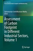 Assessment of Carbon Footprint in Different Industrial Sectors, Volume 1 (eBook, PDF)