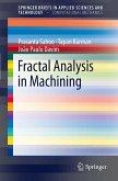 Fractal Analysis in Machining (eBook, PDF)