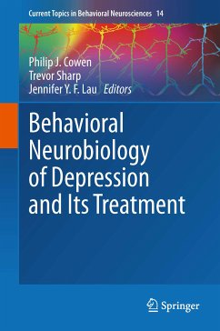 Behavioral Neurobiology of Depression and Its Treatment (eBook, PDF)