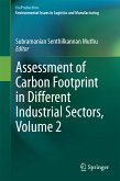 Assessment of Carbon Footprint in Different Industrial Sectors, Volume 2 (eBook, PDF)