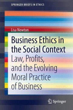 Business Ethics in the Social Context (eBook, PDF) - Newton, Lisa