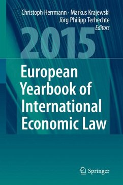 European Yearbook of International Economic Law 2015 (eBook, PDF)