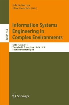 Information Systems Engineering in Complex Environments (eBook, PDF)