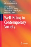 Well-Being in Contemporary Society (eBook, PDF)