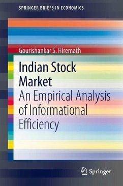 Indian Stock Market (eBook, PDF) - Hiremath, Gourishankar S.