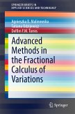 Advanced Methods in the Fractional Calculus of Variations (eBook, PDF)