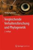 Vergleichende Verhaltensforschung und Phylogenetik (eBook, PDF)