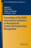 Proceedings of the Ninth International Conference on Management Science and Engineering Management (eBook, PDF)