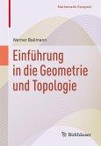 Einführung in die Geometrie und Topologie (eBook, PDF)
