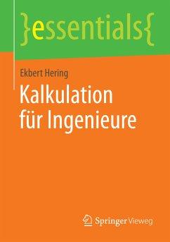 Kalkulation für Ingenieure (eBook, PDF) - Hering, Ekbert