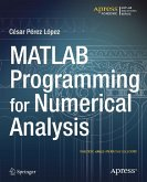 MATLAB Programming for Numerical Analysis (eBook, PDF)