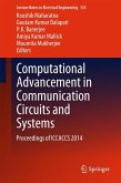 Computational Advancement in Communication Circuits and Systems (eBook, PDF)