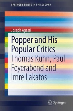 Popper and His Popular Critics (eBook, PDF) - Agassi, Joseph