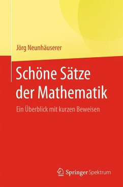 Schöne Sätze der Mathematik (eBook, PDF) - Neunhäuserer, Jörg
