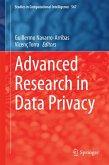 Advanced Research in Data Privacy (eBook, PDF)