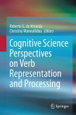 Cognitive Science Perspectives on Verb Representation and Processing (eBook, PDF)