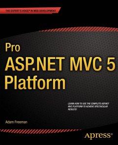 Pro ASP.NET MVC 5 Platform (eBook, PDF) - Freeman, Adam