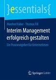 Interim Management erfolgreich gestalten (eBook, PDF)