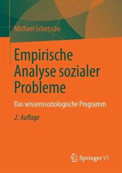 Empirische Analyse sozialer Probleme (eBook, PDF) - Schetsche, Michael