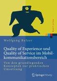 Quality of Experience und Quality of Service im Mobilkommunikationsbereich (eBook, PDF)
