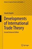 Developments of International Trade Theory (eBook, PDF)