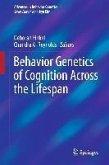 Behavior Genetics of Cognition Across the Lifespan (eBook, PDF)