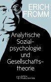 Analytische Sozialpsychologie und Gesellschaftstheorie (eBook, ePUB)