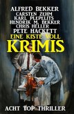 Eine Kiste voll Krimis: Acht Top Thriller (eBook, ePUB)