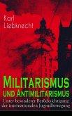 Militarismus und Antimilitarismus (eBook, ePUB)