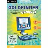 Goldfinger Junior 5- Das erfolgreiche Tipp-Programm für Kinder ab 8 Jahren (Download für Windows)