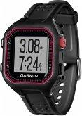 Garmin Forerunner 25 GPS-Laufuhr mit Activity Tracker schwarz/rot