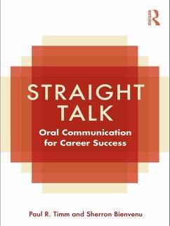 Straight Talk (eBook, PDF) - Timm, Paul R.; Bienvenu, Sherron