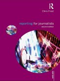 Reporting for Journalists (eBook, PDF)