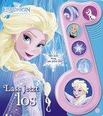 Die Eiskönigin, Lass jetzt los, Liederbuch mit Sound: Disney-Pappbilderbuch mit 6 Melodien, Buch zum Film