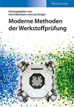 Moderne Methoden der Werkstoffprüfung (eBook, ePUB)