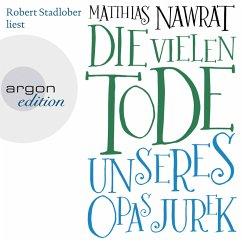 Die vielen Tode unseres Opas Jurek (MP3-Download) - Nawrat, Matthias