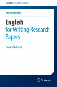 English for Writing Research Papers - Wallwork, Adrian