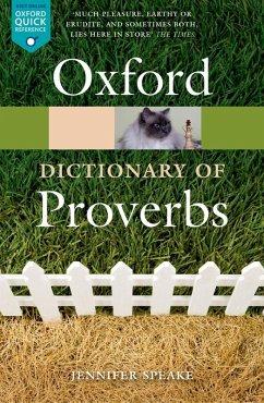 Oxford Dictionary of Proverbs (eBook, ePUB)