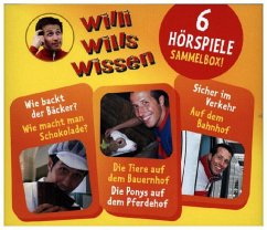 Willi wills wissen - Sammelbox, Audio-CD