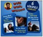 Willi wills wissen - Sammelbox, 3 Audio-CDs